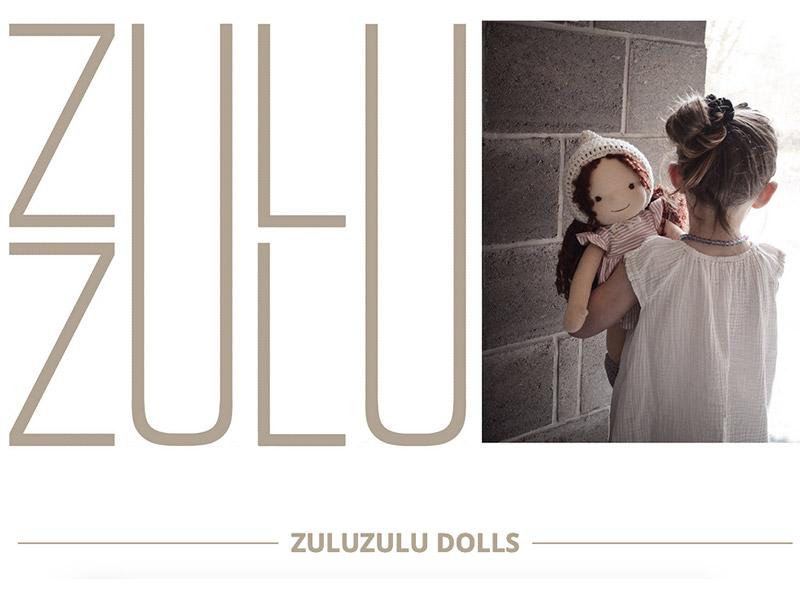Originální ručně šité panenky Zuluzulu